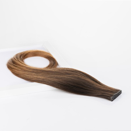 Invisible Tape-in Russian Hair - Ombre Colors