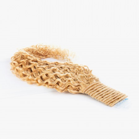 Curly Weft Hair - Classic Colors - Blond